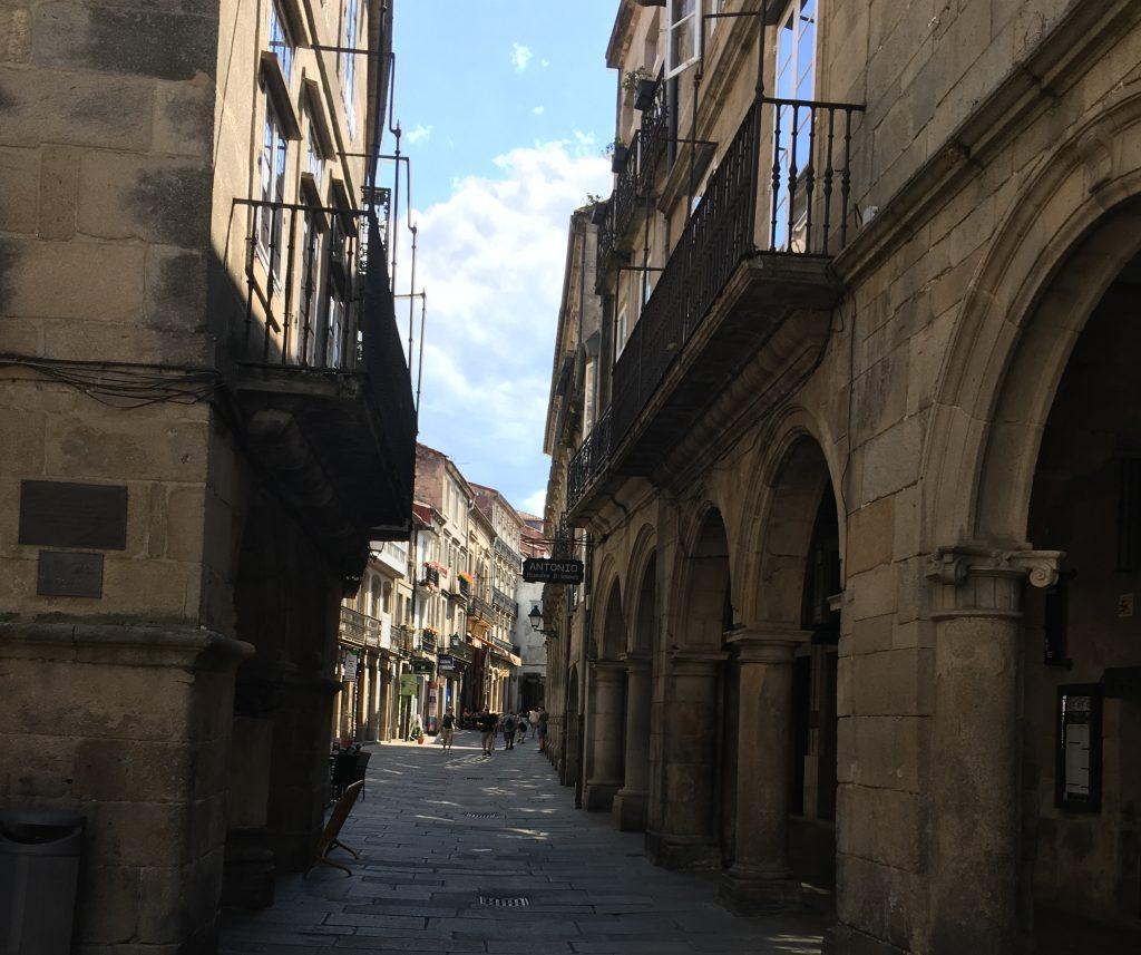 Santiago de Compostela own town