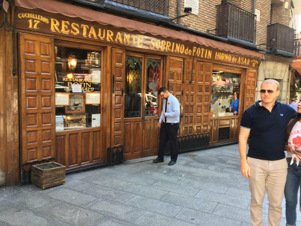 Botín - the world's oldest restaurant