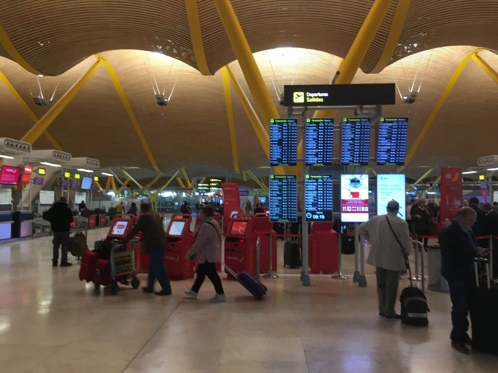 Madrid airport guide to transport and more