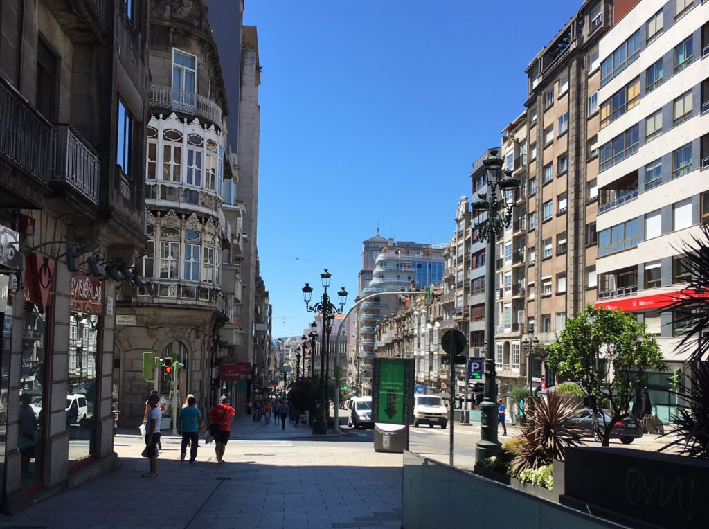 Sights and attractions in Vigo