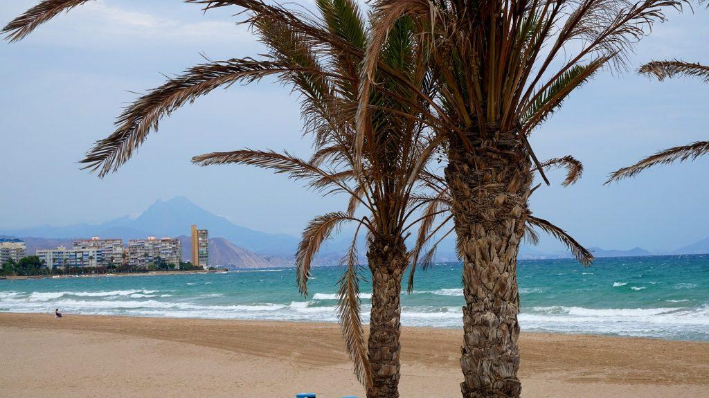 Beaches in southeastern Spain