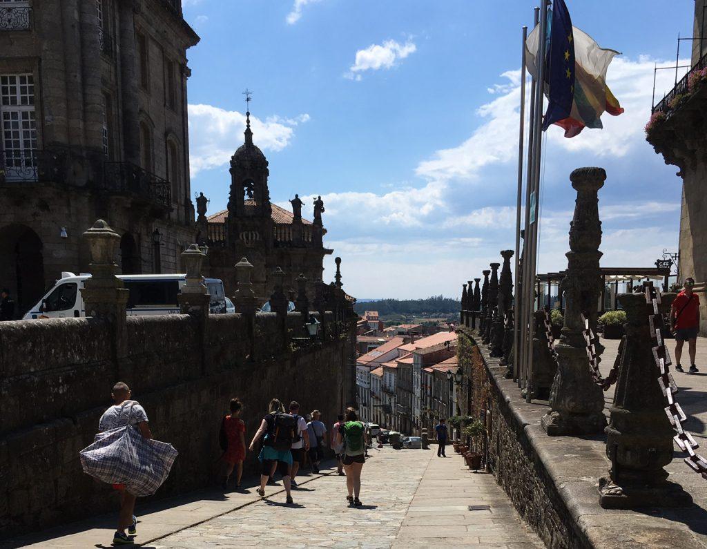 Central hotels in Santiago de Compostela