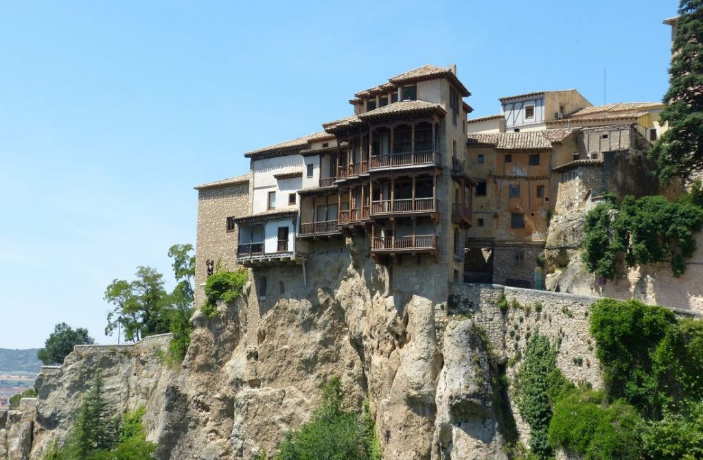 Cuenca's hanging houses