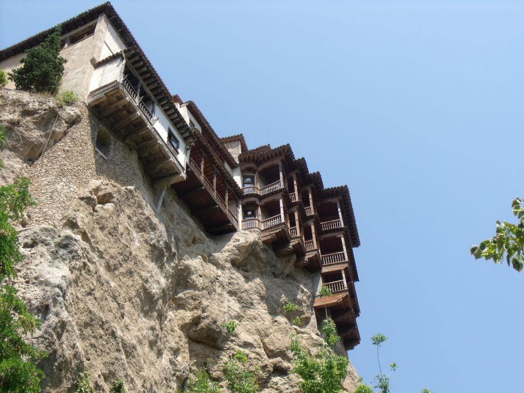 Cuenca hanging houses