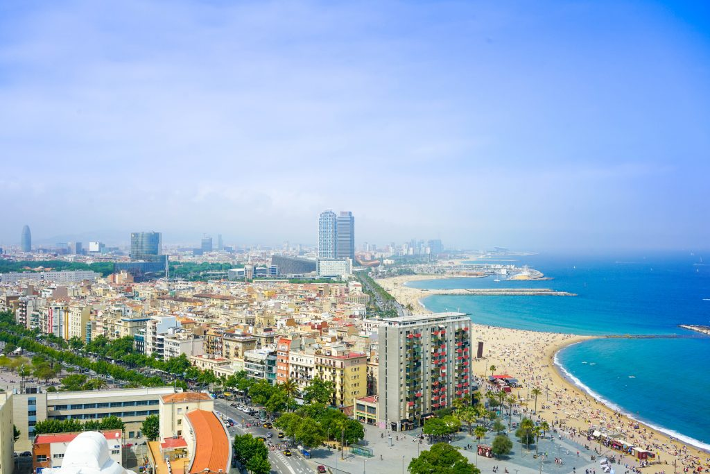 Barcelona is one of the most visited cities in Spain