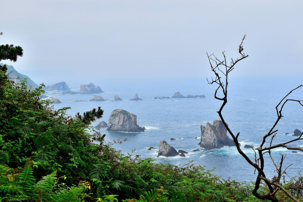 Playa del Silencio is one of the best beaches in Spain