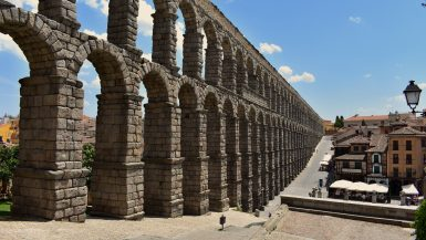 Roman aqueduct Segovia