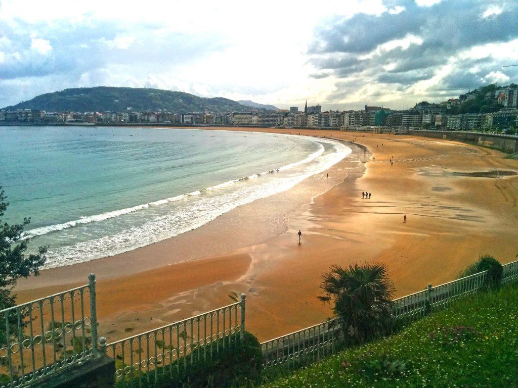 Santander beach in Spain