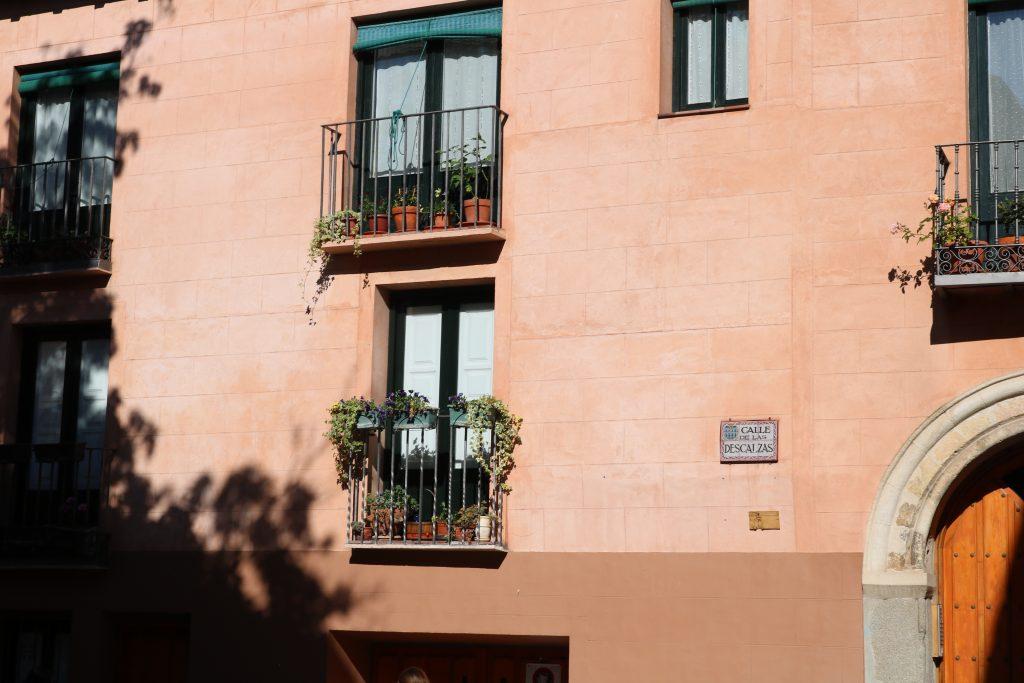 Streets in Segovia, Spain