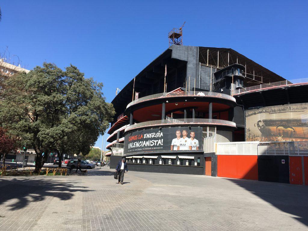 Estadio de Mestella en Valencia