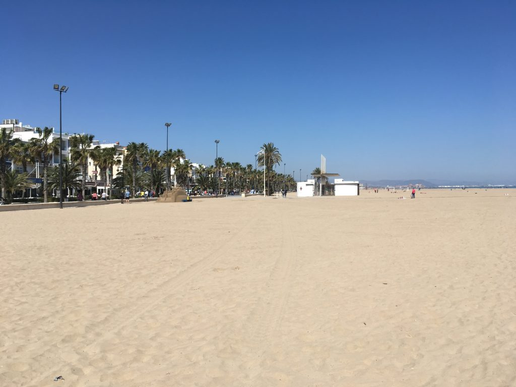 Beach in Valencia