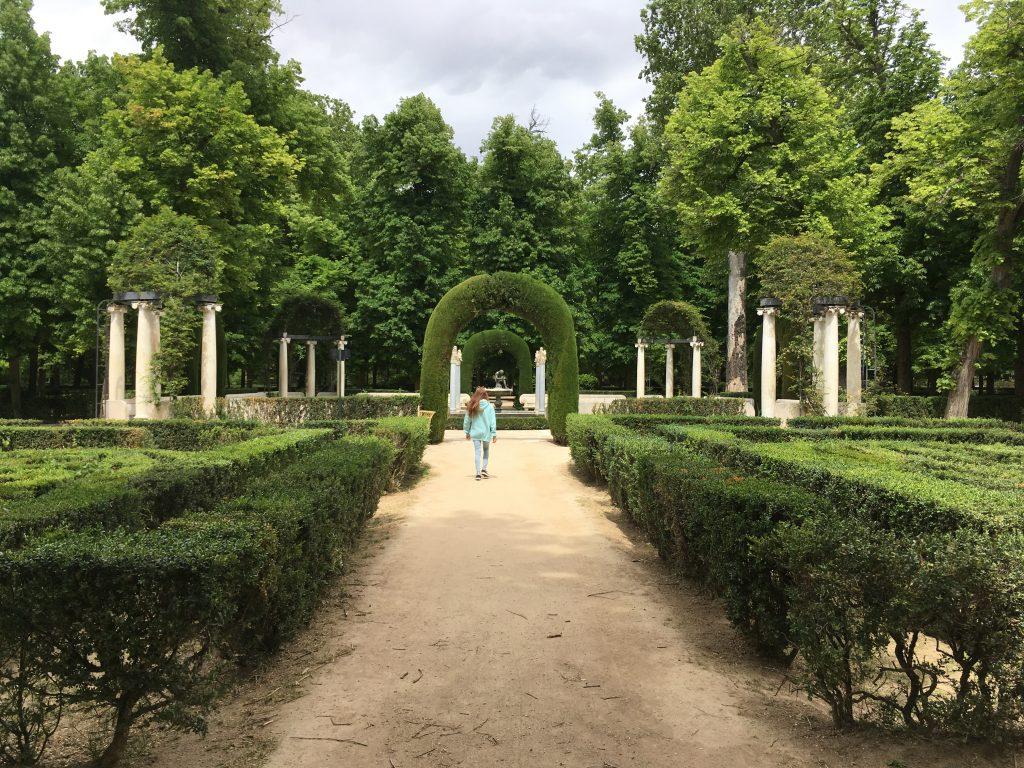 Gardens in Aranjuez