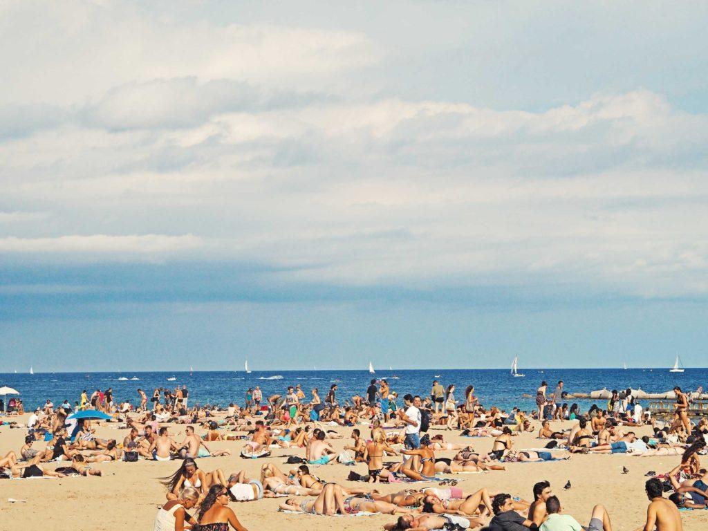 Beach hotels in Barcelona