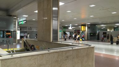 Madrid Chamartín train station