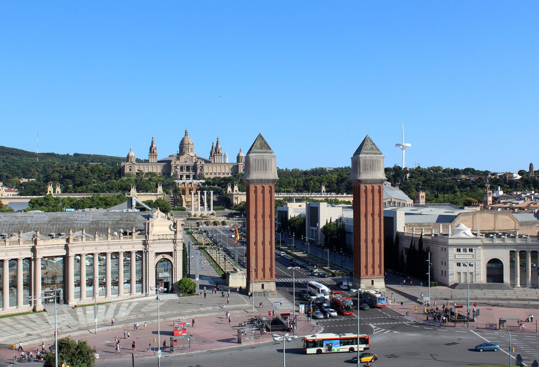 Sights and attractions in Barcelona
