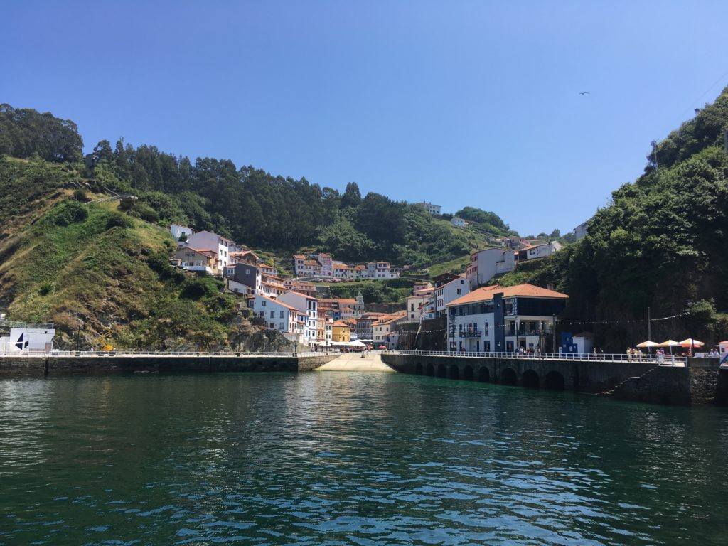 Sights in Cudillero